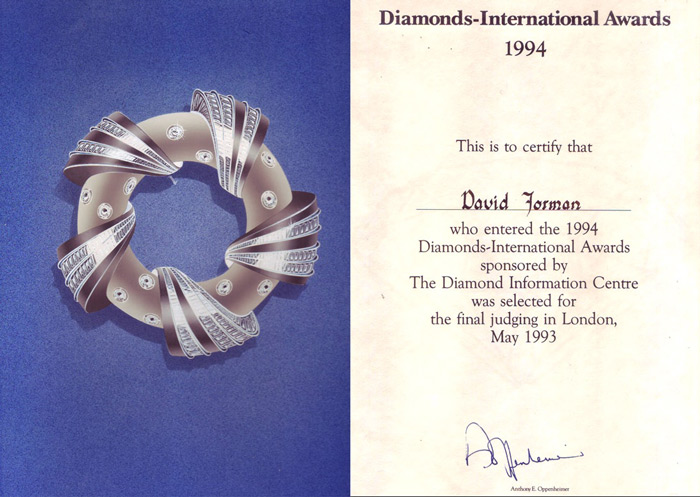 Diamonds International Awards 1994